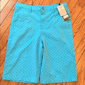UA youth XL golf shorts ⛳️ NWT